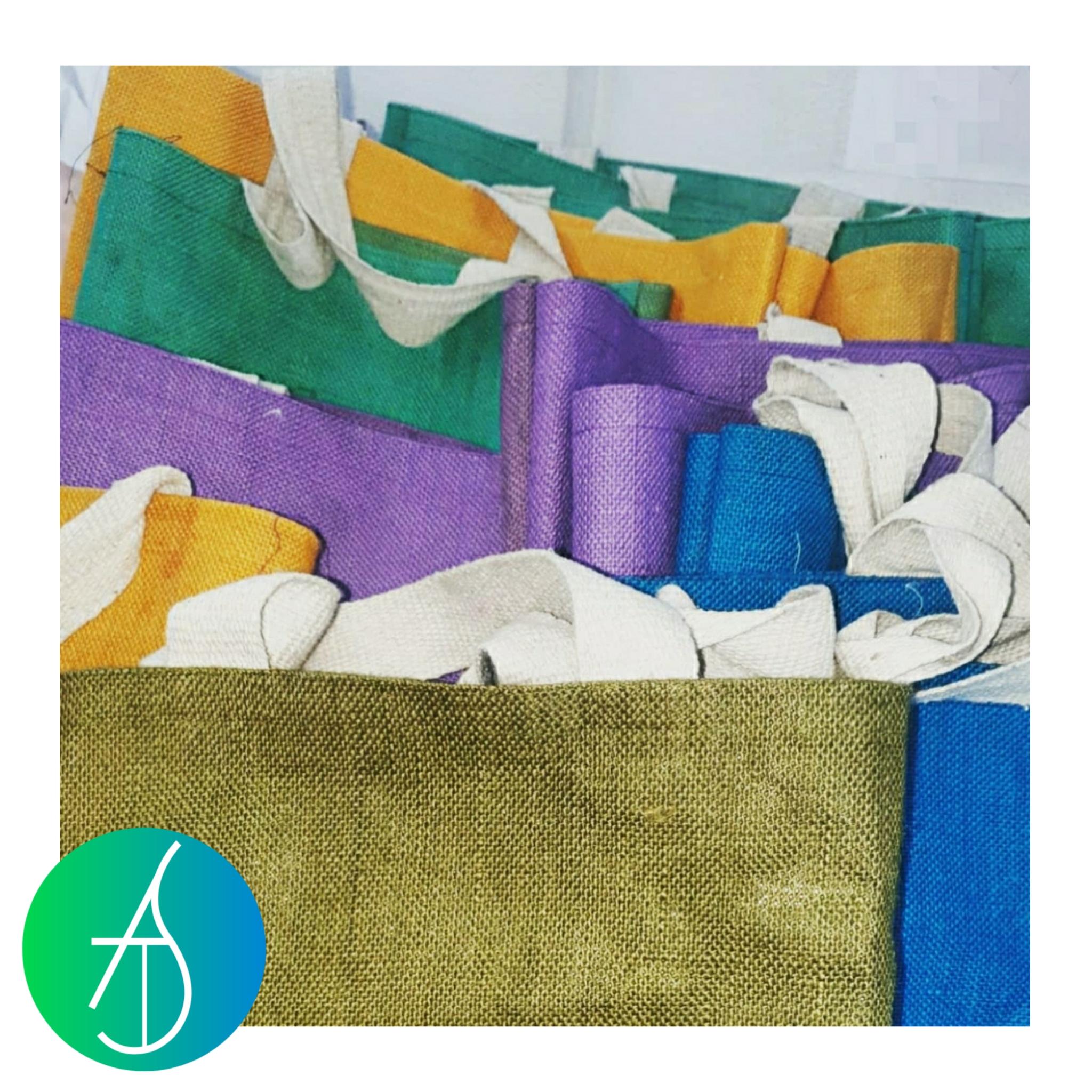 Colourful Jute Bags